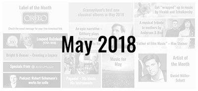 News from the Naxos Music Group - May 2018