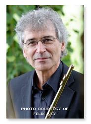 Bruno Meier, flute