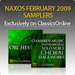 Naxos February 2009 Samplers