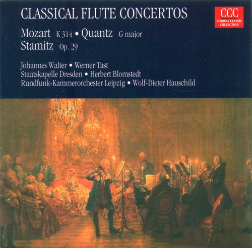 MOZART, W.A.: Flute Concerto No. 2 / QUANTZ, J.J.: Concerto for Flute and Bassoon / STAMITZ, C.: Flute Concerto, Op. 29 (Tast, Walter, Konigstedt)