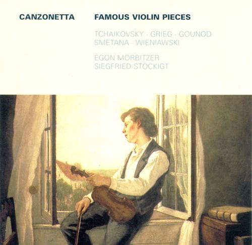 Violin Recital: Morbitzer, Egon - FIBICH, Z. / D'AMBROSIO, A. / TCHAIKOVSKY, P.I. / GRIEG, E. / RAFF, J. / BACH, J.S. (Famous Violin Pieces)