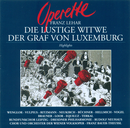 LEHAR, F.: Lustige Witwe (Die) (The Merry Widow) / Der Graf von Luxembourg (The Count of Luxembourg) (Highlights) [Operettas]