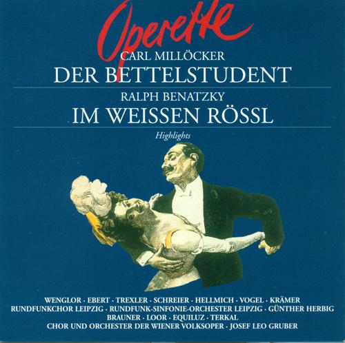 MILLOCKER, K.: Bettelstudent (Der) / Im weissen Rossl [Operetta] (Herbig)