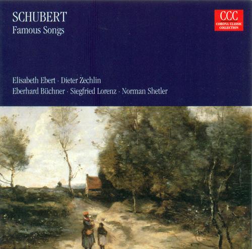 SCHUBERT, F.: Lieder (Ebert, Buchner, Lorenz)