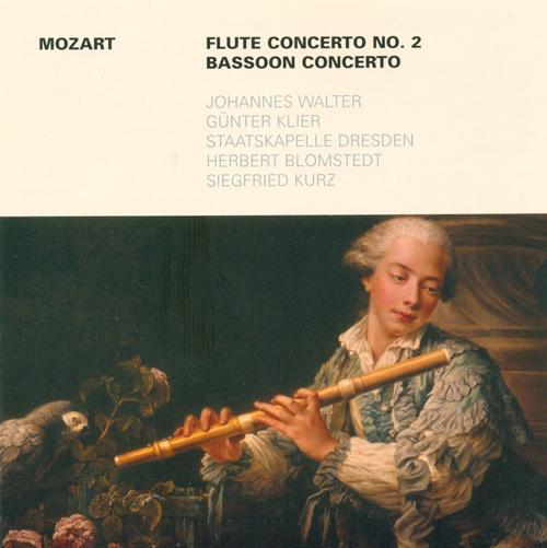MOZART, W.A.: Flute Concerto No. 2 / Bassoon Concerto, K. 191 (Walter, Klier)