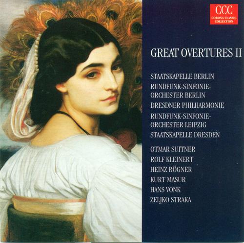 OPERA OVERTURES - MOZART, W.A. / WEBER, C.M. von / ROSSINI, G. / KREUTZER, C. / CHERUBINI, L. / AUBER, D.-F. / CORNELIUS, P.