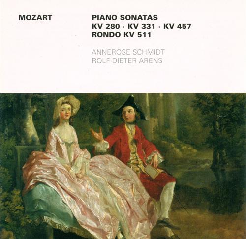 MOZART, W.A.: Piano Sonatas - Nos. 2, 11, 14 / Rondo, K. 511 (Arens, Schmidt)
