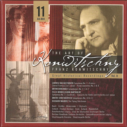 KONWITSCHNY, Franz: The Art of Konwitschny - Great Historical Recordings, Vol. 2