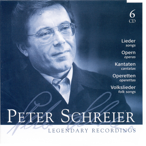 Vocal Recital: Schreier, Peter – Legendary Recordings