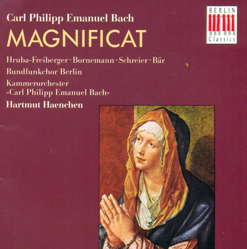 BACH, C.P.E: Sinfonia in G major, Wq. 173 / Sinfonia in G major, Wq. 180 / Magnificat, Wq. 215 (Haenchen)