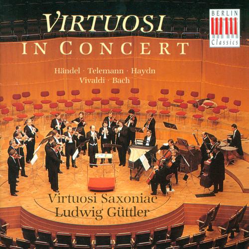 Orchestral Music (German) - HANDEL, G.F. / TELEMANN, G.P. / HAYDN, F.J. / TELEMANN, G.P. / BACH, J.S. (Virtuosi Saxoniae, Guttler)