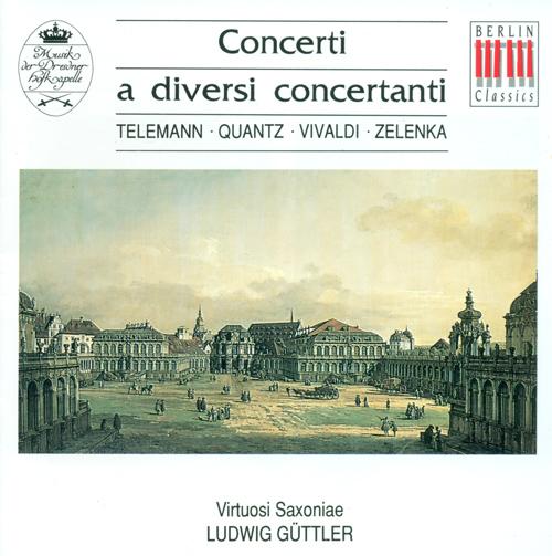 Baroque Concertos - TELEMANN, G.P. / QUANTZ, J.J. / VIVALDI, A. / ZELENKA, J.D. (Guttler)