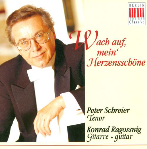 Vocal Recital: Schreier, Peter - BRAHMS, J. / MENDELSSOHN, Felix / MOZART, W.A. / BEETHOVEN, L. van / SCHUBERT, F. / SCHUMANN, R.