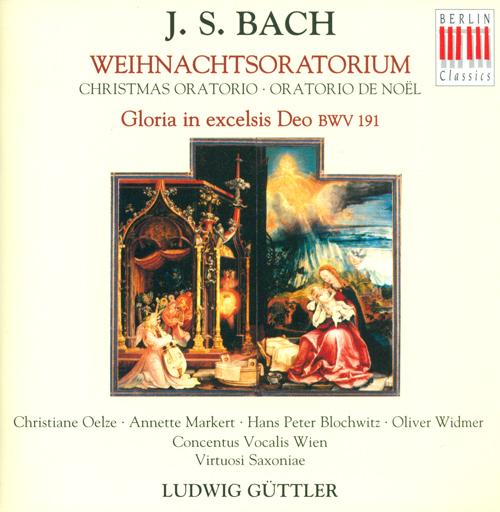 BACH, J.S.: Christmas Oratorio (Guttler)