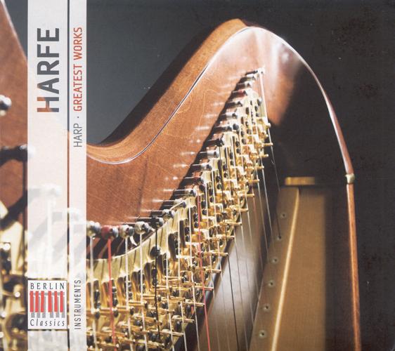 Harp Music - PARADIES, P.D. / PROKOFIEV, S. / SPOHR, L. / TOURNIER, M. / SAINT-SAENS, C. / GRANDJANY, M. / NIELSEN, C. (Harp Music - Greatest Works)