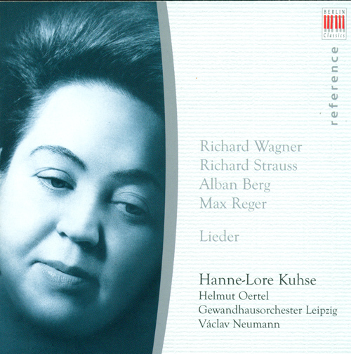 Vocal Recital: Kuhse, Hannelore - WAGNER, R. / STRAUSS, R. / BERG, A. / REGER, M.