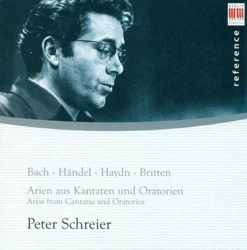 Vocal Recital: Schreier, Peter - BACH, J.S. / HANDEL, G.F. / HAYDN, F.J. / BRITTEN, B. (Arias from Cantatas and Oratorios)