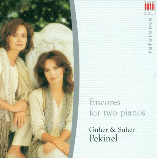Piano Duo Recital: G. Pekinel / S. Pekinel - LISZT, F. / BRAHMS, J. / MILHAUD, D. / POULENC, F. / LECUONA, E. / BACH, J.S. / LUTOSLAWSKI, W.