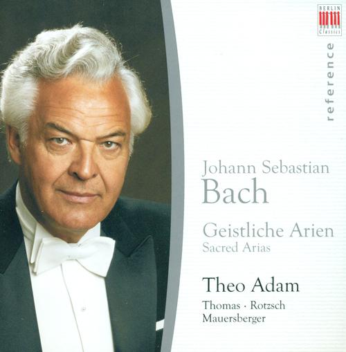 BACH, J.S.: Sacred Arias - BWV 4, 59, 68, 71, 79, 111, 140, 244, 248 (Adam)