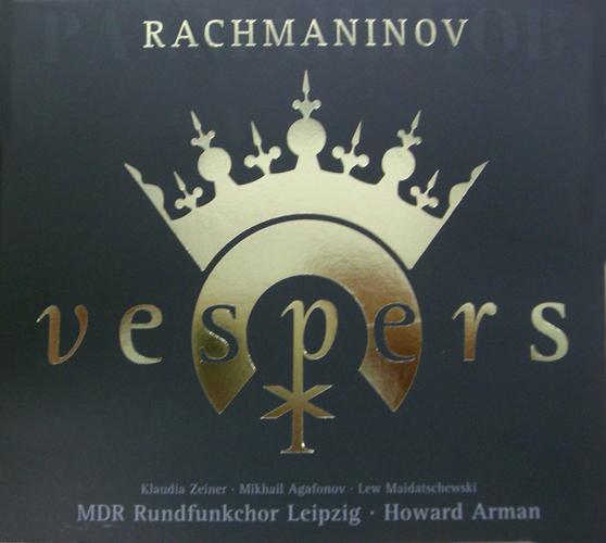 RACHMANINOV, S.: Vespers, Op. 37 (Leipzig Radio Chorus, Arman)