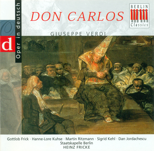 VERDI, G.: Don Carlos [Opera] (Highlights) (Sung in German) (Ritzmann)