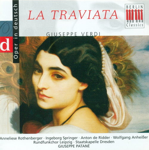 VERDI, G.: Traviata (La) [Opera] (Highlights) (Sung in German) (Patane)