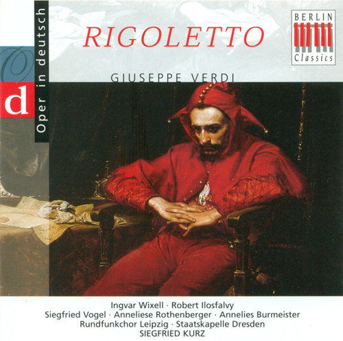 VERDI, G.: Rigoletto [Opera] (Highlights) (Sung in German) (Kurz)