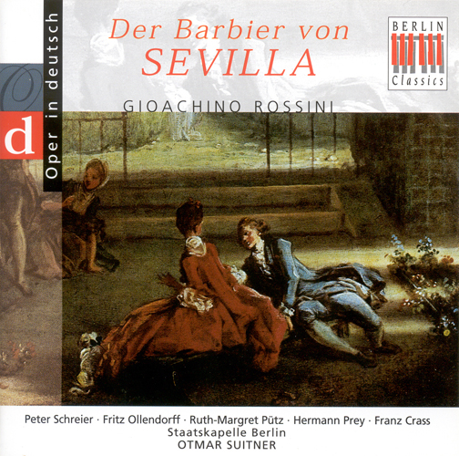 ROSSINI, G.: Barber of Seville (The) [Opera] (Highlights) (Sung in German) (Suitner)