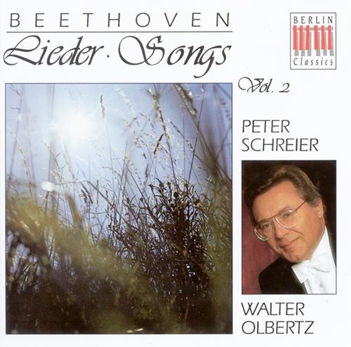 BEETHOVEN, L. van: Vocal Music (Schreier, Olbertz, Franke)
