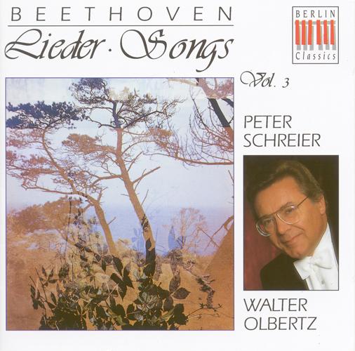 BEETHOVEN, L. van: Vocal Music (Stolte, Schreier, Olbertz)