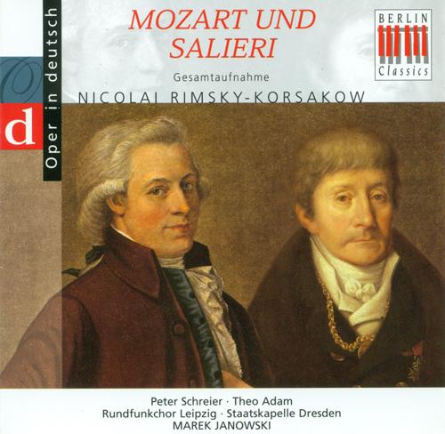RIMSKY-KORSAKOV, N.A.: Mozart and Salieri [Opera] (Sung in German) (Janowski)