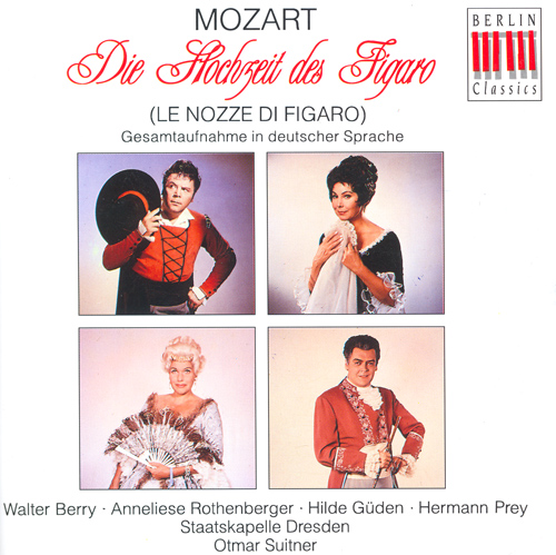 MOZART, W.A.: Nozze di Figaro (Le) (The Marriage of Figaro) [Opera] (Suitner)