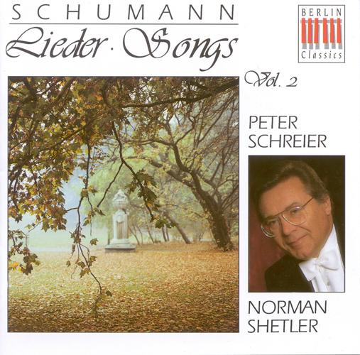 SCHUMANN, R.: Lieder, Vol. 2 - Liederkreis / 3 Gedichte, Op. 30 / Lieder und Gesange (Schreier, Shetler)