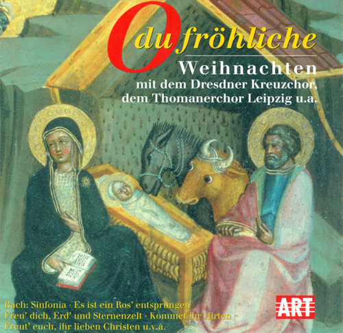 CHRISTMAS WITH THE DRESDEN KREUZCHOR AND LEIPZIG THOMANER CHOIR