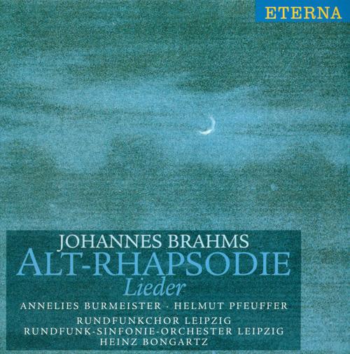 BRAHMS, J.: Lieder (Alt-Rhapsodie) (Burmeister)