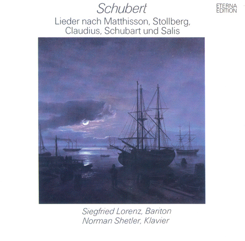 SCHUBERT, F.: Lieder (Lorenz, Shetler)