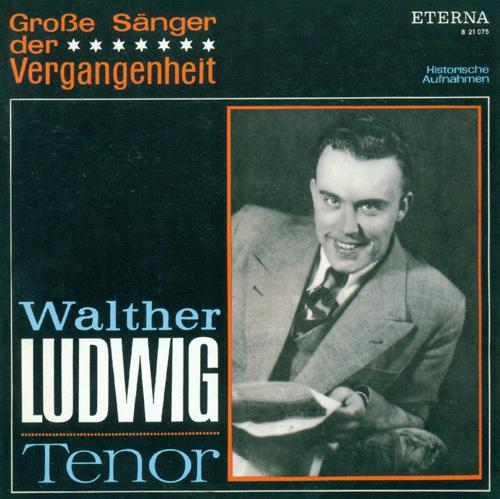 Vocal Recital: Ludwig, Walther - MOZART, W.A. / DONIZETTI, G. / BOIELDIEU. F.-A. / FLOTOW, F. von / NICOLAI, O. / BIZET, G. / SMETANA, B. (1943-1944)