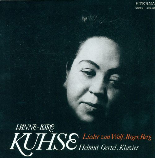 Vocal Recital: Kuhse, Hannelore - WOLF, H. / BERG, A. / REGER, M.