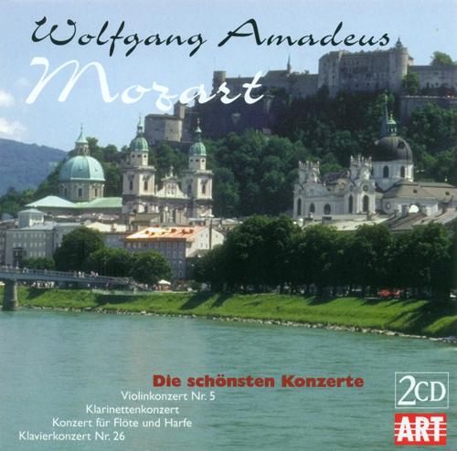 MOZART, W.A.: Violin Concerto No. 5 / Clarinet Concerto, K. 622 / Concerto for Flute and Harp, K. 299 / Piano Concerto No. 26 (D. Oistrakh, Michallik)