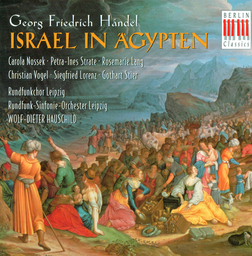 HANDEL, G.F.: Israel in Egypt (Sung in German) [Oratorio] (Hauschild)