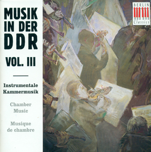 East German Music, Vol. 3 - KATZER, G. / SCHENKER, F. / GOLDMANN, F. / ZECHLIN, R. / DESSAU, P. / MEYER, E.H.