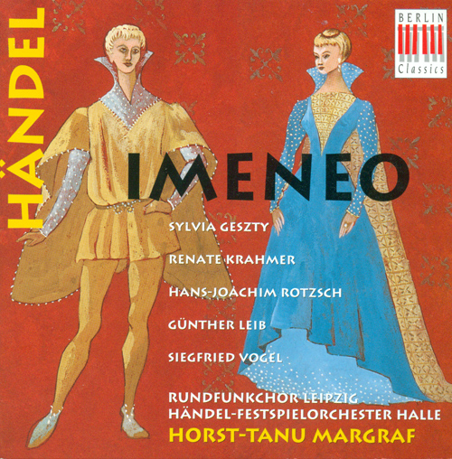 HANDEL, G.F.: Imeneo (Sung in German) [Opera] (Margraf)