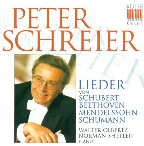 Vocal Recital: Schreier, Peter - SCHUBERT, F. / BEETHOVEN, L. van / MENDELSSOHN, Felix / SCHUMANN, R.
