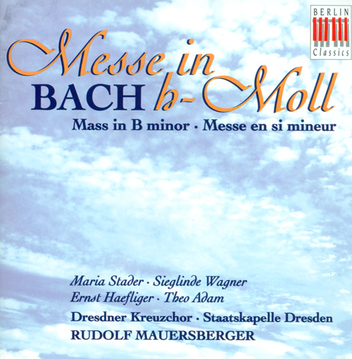 BACH, J.S.: Mass in B minor (Dresdner Kreuzchor, Mauersberger)
