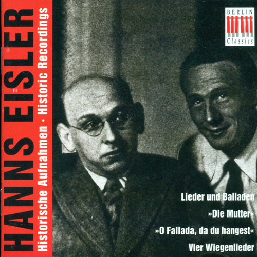 EISLER, H.: Vocal Music (Busch)