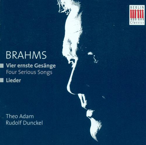 BRAHMS, J.: Lieder (Adam)