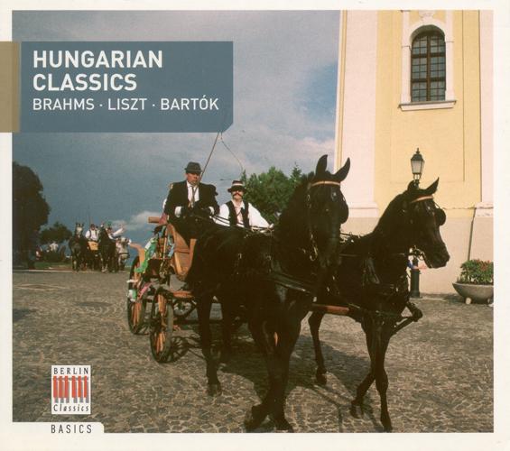 HUNGARIAN CLASSICS - BRAHMS, J. / LISZT, F. / BARTOK, B.