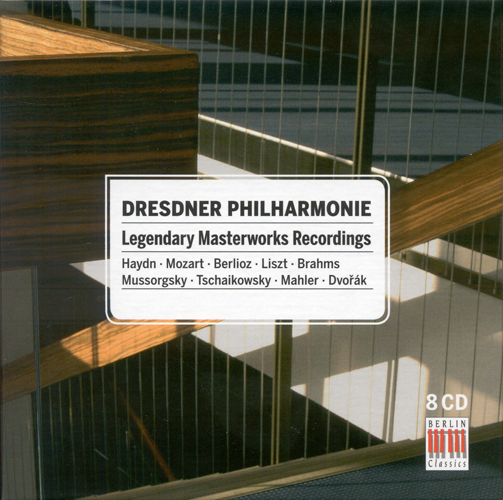 DRESDEN PHILHARMONIC ORCHESTRA - Legendary Masterworks Recordings