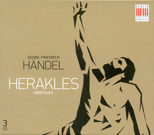 HANDEL, G.F.: Hercules [Oratorio] (Sung in German) (Hauschild)
