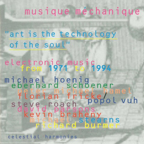 MUSIQUE MECHANIQUE: European Trance / Transcontinental Space